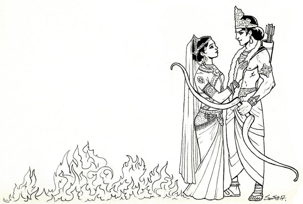 sinceridad de una mujer pura, Srimati Sita devi